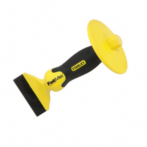 "Stanley Fatmax 418328 Brick Bolster with Safety Guard 100mm (4"")"